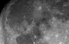 Lunar Detail from 4-16-19 (StephenGA) Tags: sct8 2019 astrophotography moon waxinggibbous asi174mm