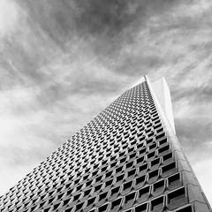 transamerica (eb78) Tags: bw blackandwhite monochrome greyscale grayscale iphoneography iphone ca california sf sanfrancisco financialdistrict architecture
