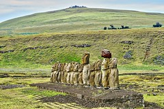 Ahu Tongariki - Easter Island (michael_jeddah) Tags: easterisland rapanui chile pacific moai ahutongariki poike vulcano osterinsel polynesia