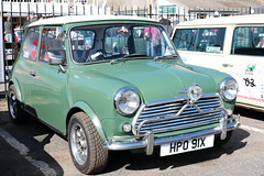 1981 Austin Mini HPO91X Brooklands Mini Day March 2019 (davidseall) Tags: 1981 austin mini hpo91x hpo 91x car classic old shape style original great british brooklands day march 2019 weybridge surrey uk
