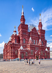 State Historical Museum (Moscow, Russia) (KonstEv) Tags: architecture moscow russia building redsquare museum