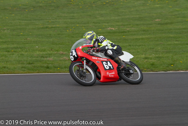 CRMC Castle Combe 2019 - Race 21 Post Classic 125cc