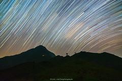 falling stars (langthangdaydo) Tags: star stars startrail night nightscape nightphotography nightfall nightsky nighttime dark darkness dawn startrails