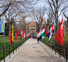 International Flags at the Conference on World Affairs (Colorado Sands) Tags: sidewalk flags macky campus cu boulder colorado usa universityofcoloradoatboulder universityofcolorado mackyauditorium sandraleidholdt architecture cwa conferenceonworldaffairs conference april 2019 coloradouniversity universities 71st annual us concerthall mackyauditoriumconcerthall buidling
