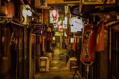 Empty street in Tokyo (fannymejean) Tags: rue lumière lights japan japon asia asie street empty night ville city shibuya tokyo