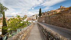 Mirador de la Lona (Albayzín de Granada) (cedant1) Tags: mirador lona albayzín granada picturesque spain espagne europe espana andalousia andalousie grenade europa clouds nikon nikond750