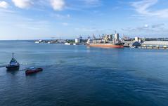 Port Louis / Порт Луи (dmilokt) Tags: пейзаж landscape гора небо облако mountain sky cloud море океан sea ocean dmilokt порт port корабль ship