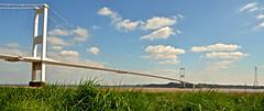 ACROSS THE SEVERN (chris .p) Tags: bridge severn river nikon d610 crossing grass capture picture uk spring 2019 april riversevern