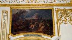 Chantilly, Oise - France (Mic V.) Tags: château de chantilly chateau castle renaissance building architecture french history histoire france oise grand cabinet monsieur le prince paint painting peinture condé conde duke duc bourbon