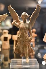 Winged Nike (Victory) in Flight (30 BC-AD 45) (Bri_J) Tags: britishmuseum london uk museum historymuseum nikon d7500 terracotta myrina greece statuette wingednikevictoryinflight wings nike victory flight greekart