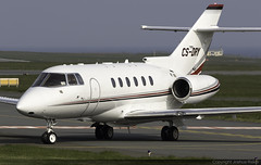 NetJets Europe Hawker 800XPi CS-DRY @ Isle of Man Airport (EGNS/IOM) (Joshua_Risker) Tags: isle man airport egns iom ronaldsway netjets europe nje fractions hawker bae 125 h25b 800 800xp 800xpi xpi csdry
