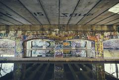 Is Soup (matthewkaz) Tags: graffiti underpass painting art overpass bridge redcedar redcedarriver river water reflection reflections msu michiganstateuniversity college campus university eastlansing michigan inghamcounty farmln farmlane road 2019