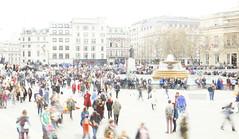 _B5A2767REWS Trafalgar Square, © Jon Perry, 23-3-19 zbq (Jon Perry - Enlightenshade) Tags: trafalgarsquare london highkey longexposure motion people flow jonperry enlightenshade arranginglightcom 23319 20190323