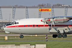 Antonov An-12BP - UR-CGW - HAJ - 17.04.2019(4) (Matthias Schichta) Tags: ukraineairalliance antonov an12 haj hannoverlangenhagen eddv urcgw planespotting flugzeugbilder
