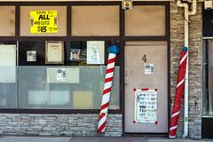 Brooklyn (Westographer) Tags: brooklyn melbourne australia westernsuburbs suburbia australiansuburbia barbershop hairdresser typography signs signage barberspoles