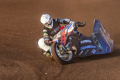 Sidecar Speedway Leicester Speedway 2019_049 (Anthony Britton) Tags: leicesterspeedway leicesterlions sidecarspeedway honda yamaha suzuki canon5dmk4 sigma100400 motorbike sidecar speedway speedwaypits
