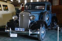 1936 Chevrolet LDV (Johann (Still Me!)) Tags: chev chevrolet ldv lighttruck truck vehicle 1936chev highiso iso6400 outeniquatransportmuseum oldstuff johanndejager ef24105mmf4lisiiusm canoneos5dmarkiv makemesmile diegutealtezeit pickup bakkie