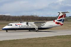 DHC-8 311Q G-BRYZ British Airways (BA Connect) (Mark McEwan) Tags: dehavillandcanada dash8 dhc8 dhc8311q gbryz britishairways baconnect edi edinburghairport edinburgh aviation aircraft airplane airliner