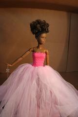 Princess in Pink (darqq_seraphim) Tags: barbie khia barbieinpink 50shadesofpink khiasstory barbiedresses aabarbie blackbarbie blackbarbieinpink aabarbieinpink madetomovebarbie yellowmadetomovebarbie yellowmadetomovebarbieinpink