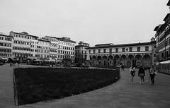 Florence (michele.palombi) Tags: florence film 35mm darkroom analogic piazza santa maria novella fomapan 400asa