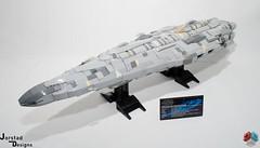DSC_1464 (Jorstad Designs, LLC) Tags: lego star wars rebel alliance fleet mon calamari scale moc ucs jorstad designs llc mc80a mc80b home one liberty cruiser class hammerhead corvette mc30c frigate dp20 blockade runner