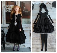 BeFunky-collage (3) (Elena_art) Tags: barbiedivergenttris barbie etsy handmade dress boho