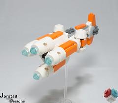 DSC_1394 (Jorstad Designs, LLC) Tags: lego star wars rebel alliance fleet mon calamari scale moc ucs jorstad designs llc mc80a mc80b home one liberty cruiser class hammerhead corvette mc30c frigate dp20 blockade runner