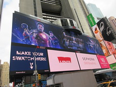 Avengers Endgame Electric Billboard Times Square 6374 (Brechtbug) Tags: avengers endgame steve rogers captain america thor iron man black widow the hulk super soldier marvel shield guardians galaxy comic book hero times square electric billboard movie poster 04172019 theatre holiday ornaments chris evans robert downey jr mark ruffalo hemsworth scarlett johansson 34th street new york city 2019 nyc standee thanos bad guy electronic brie larson carol danvers vers end game