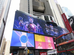 Avengers Endgame Electric Billboard Times Square 6368 (Brechtbug) Tags: avengers endgame steve rogers captain america thor iron man black widow the hulk super soldier marvel shield guardians galaxy comic book hero times square electric billboard movie poster 04172019 theatre holiday ornaments chris evans robert downey jr mark ruffalo hemsworth scarlett johansson 34th street new york city 2019 nyc standee thanos bad guy electronic brie larson carol danvers vers end game