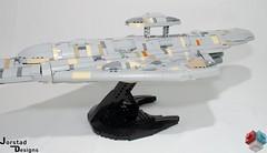 DSC_1358 (Jorstad Designs, LLC) Tags: lego star wars rebel alliance fleet mon calamari scale moc ucs jorstad designs llc mc80a mc80b home one liberty cruiser class hammerhead corvette mc30c frigate dp20 blockade runner