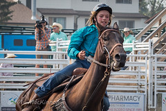 CPRA 36th Annual Rodeo (tallhuskymike) Tags: cpra rodeo event cowgirl horse action cochrane alberta 2018 outdoors barrelracing