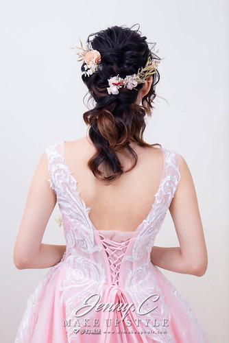 【新秘蓁妮】素人改造-打造完美新娘造型
