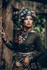 Blue (Nino Pucio Photography) Tags: woman pretty fashion photography portraits lifestyle conceptual nikon ninopuciophotography victorian hair portrait