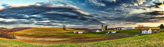 8R9A6987-91PtaMzl1TBbGERk (ultravivid imaging) Tags: ultravividimaging ultra vivid imaging ultravivid colorful canon canon5dm3 clouds sunsetclouds stormclouds scenic spring fields farm field trees barn silo tree silos countryscene rainyday rural vista pennsylvania pa panoramic painterly landscape sky evening view twilight