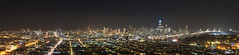 San Francisco Skyline, Night (g-liu) Tags: sanfrancisco california skyline city urban panorama view vista viewpoint night lights cityscape bayarea scenic sony a6500 hugin darktable gimp march 2019 road bridge skyscraper buildings downtown sf