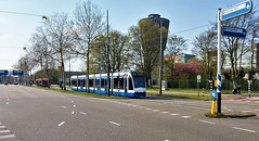 AfgeSloten 2 (Peter ( phonepics only) Eijkman) Tags: amsterdam city combino gvb detour omleiding wegwerkzaamheden roadworks tram transport trams tramtracks trolley rail rails strassenbahn streetcars nederland netherlands nederlandse noordholland holland