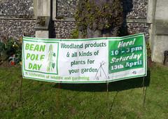 Bean Pole Day, 2019 (karenblakeman) Tags: caversham uk april 2019 beanpoleday cavershamcourtgardens reading berkshire