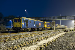 Tonbridge West Yard 17/04/19 (Wayne M Walsh) Tags: class73 tonbridge tonbridgeyard tonbridgewestyard kent england uk night dark train loco blue 73107 73136 73141 73109 73128 73119 73212 73201 73142 broadlands 107 136 141 109 128 119 212 201 canon canonm5 m5 kentishtown