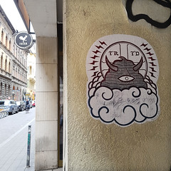 Teratoiid Paste up trip 2019 (Teratoiid) Tags: teratoiid collage pasteup streetart urbanart street art arturbain linogravure linocut monster monsters sticker stickers graffiti budapest hongrie hungary