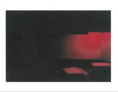 Régime. [Diet] (Adrien GOGOIS) Tags: disposable camera weird strange red dark black color colorful colours line