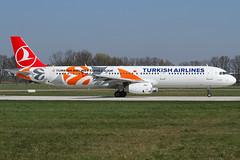 190417 HAJ Turkish Airlines A321-200 TC-JRO 01 (I_Love_It_Loud) Tags: flugzeug aircraft airplane plane airport flughafen haj eddv hannover hanover langenhagen turkish airlines a321 a321200 tcjro airbus