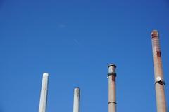 Kraftwerk Staudinger Schornsteinrückbau - chimney deconstruction (Alban.py) Tags: kraftwerkstaudinger groskrotzenburg main
