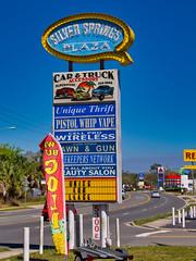 Ocala (Pete Zarria) Tags: florida neon signs strip mall small town tourists sun warm snow birds