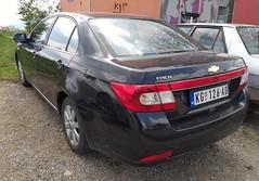 2010 Chevrolet Epica (FromKG) Tags: chevrolet epica black car kragujevac serbia 2019