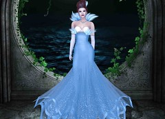 Mila Blauvelt (Mila Blauvelt) Tags: milablauvelt model avatar secondlife shopping sl style girl glamour gown fashion fashionstyle designers dressmesh dress tiffanydesign headbento shapebento skin appliers gaeg bodymesh maitreya