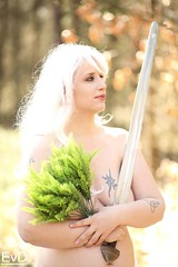 Lady of the Lake shoot with Miriam (berserker244) Tags: yggdrasilphotography10042019 yggdrasilphotography guerrillaphotography evandijk miriam nude pagan ladyofthelake