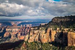 Clouds Above The Canyon (Brad Prudhon) Tags: 2018 arizona fredonianationalpark grandcanyon northrim october scenic