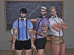 THIRST-STUDY BUDDY @ EPIPHANY (Sɲίper Dayɲ-Vίʅʅota) Tags: thirst epiphany event gay gaymale gayguys gacha male blog blogger bloggers nerd slblog sniper snipersbits secondlife slblogger sl stockard sniersbits bolton