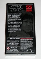star wars the black series #55 resistance tech rose 6 inch figure red packaging the last jedi basic action figures 2017 hasbro misb b (tjparkside) Tags: rose tico resistance tech star wars black series 6 inch figure red 55 packaging last jedi basic action figures 2018 2017 hasbro blaster pistol weapon weapons finn episode 8 viii eight support crew starfighters tool blasters rifle rifles tlj misb