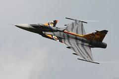 Czech Air Force, SAAB JAS-39C Gripen (j.ersil) Tags: aircraft military force fighter jet czech air nato days airshow ostrava airport tiger saab jas39 gripen tail